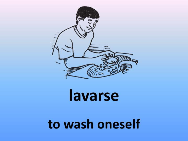 lavarse