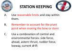 station keeping5