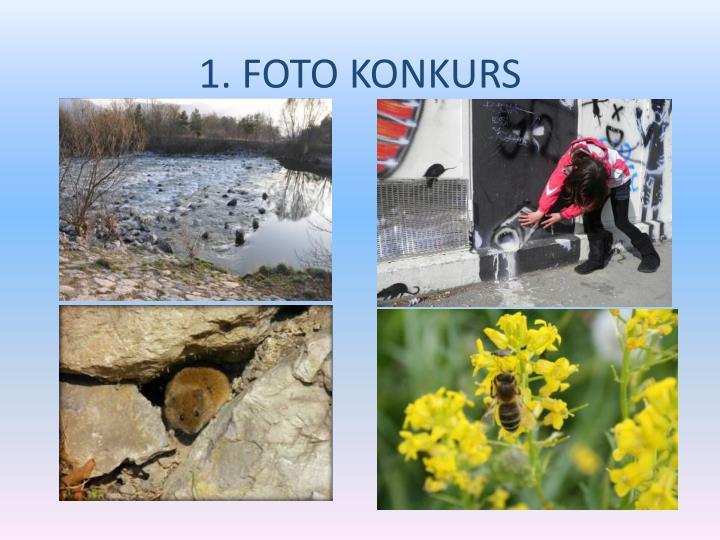 1. FOTO KONKURS