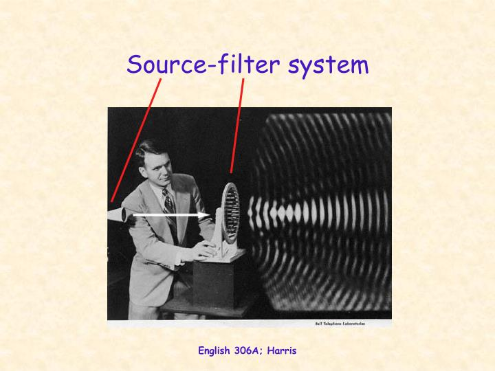 Source-filter system
