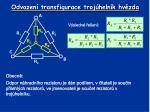 odvozen transfigurace troj heln k hv zda1