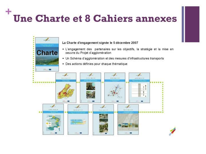 Une Charte et 8 Cahiers annexes