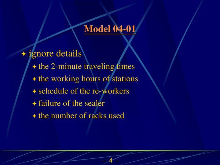 Model 04-01