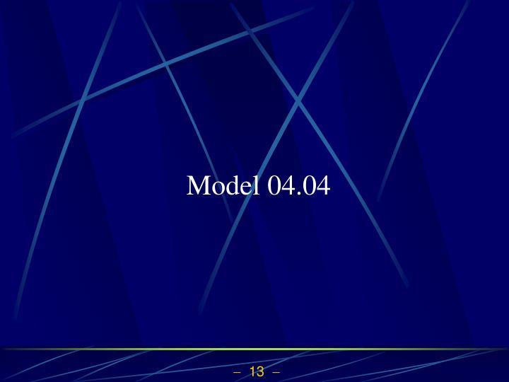 Model 04.04