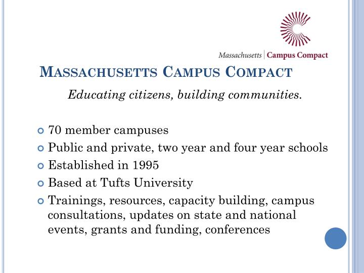 Massachusetts Campus Compact