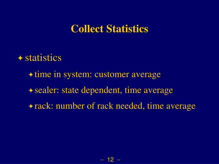 Collect Statistics