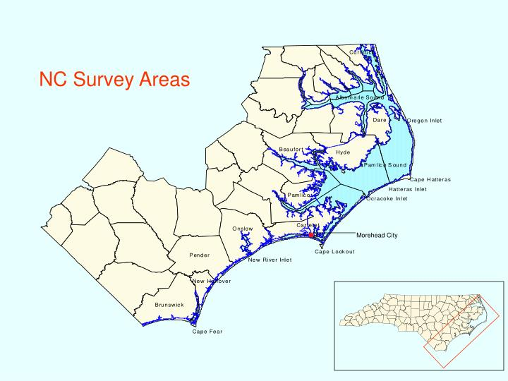 NC Survey Areas