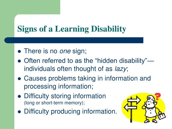 learning difficulties causes Learning disabilities information including symptoms, diagnosis, misdiagnosis, treatment, causes, patient stories, videos, forums, prevention, and prognosis.