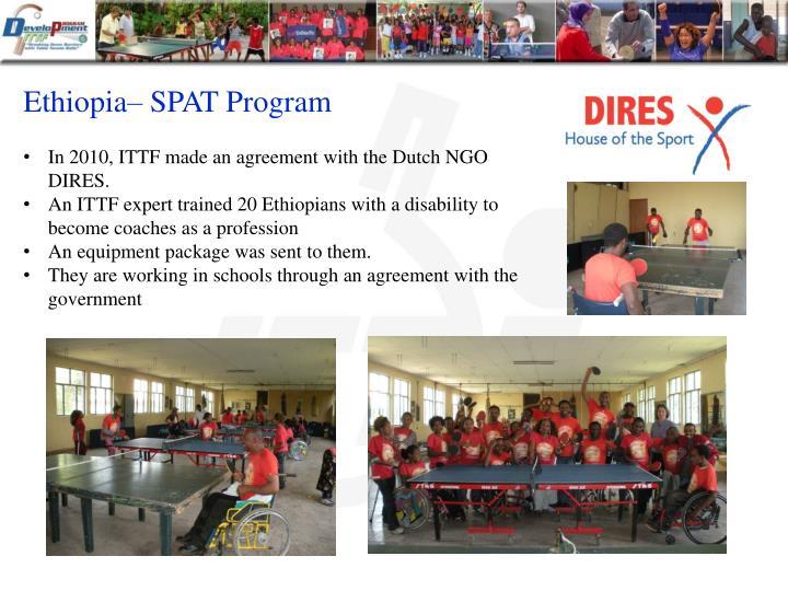 Ethiopia– SPAT Program
