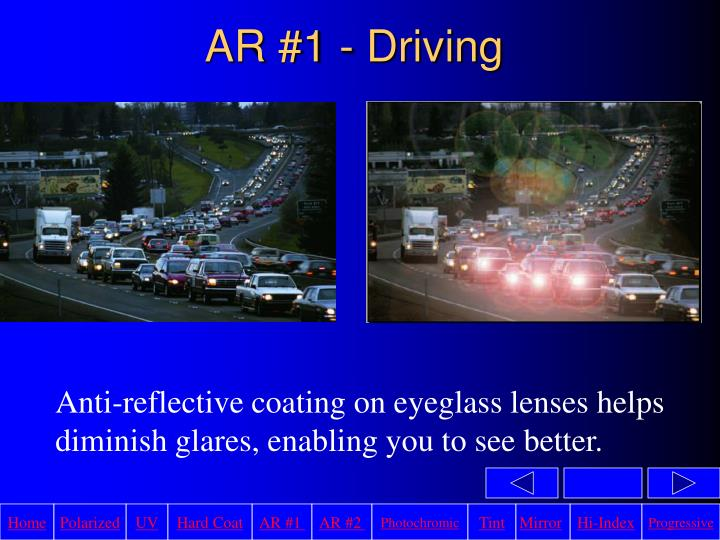 AR #1 - Driving