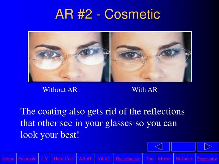 AR #2 - Cosmetic