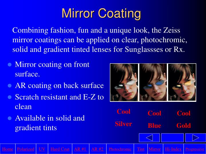Mirror Coating
