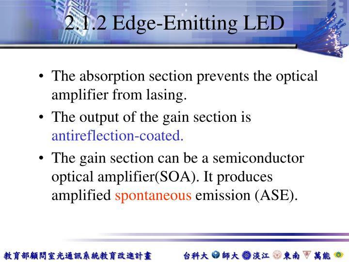 2.1.2 Edge-Emitting LED