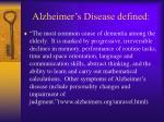 alzheimer s disease defined