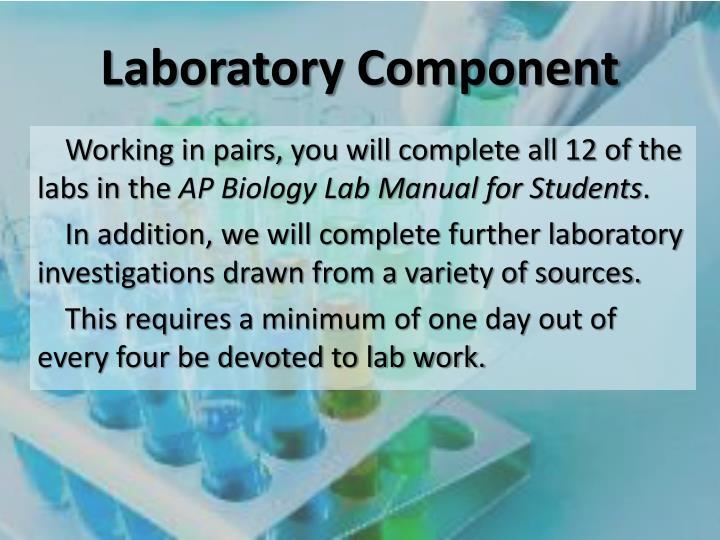 Laboratory Component