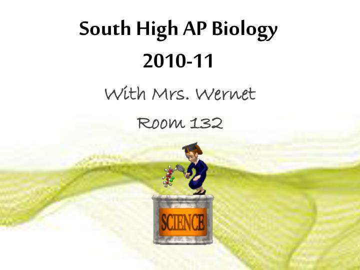 South high ap biology 2010 111