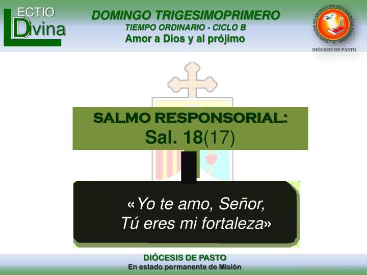 SALMO RESPONSORIAL: