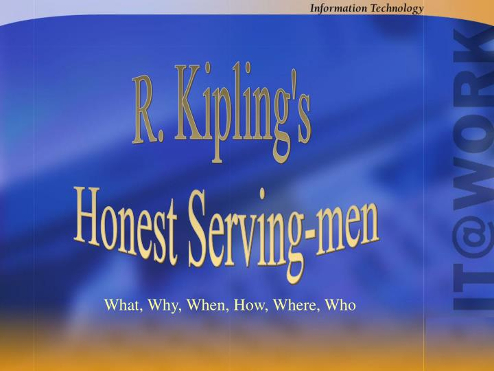 R. Kipling's
