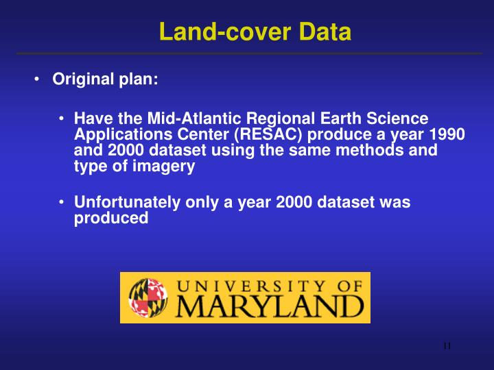 Land-cover Data