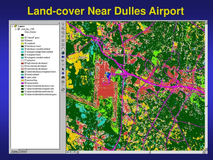 Land-cover Near Dulles Airport