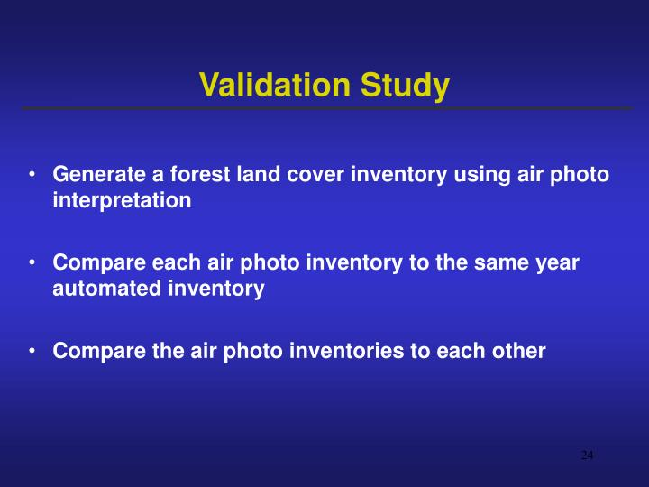 Validation Study
