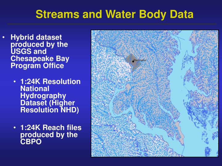 Streams and Water Body Data