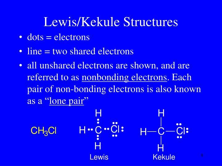 Lewis/Kekule Structures