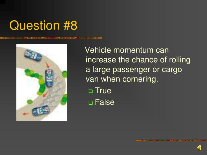 Question #8