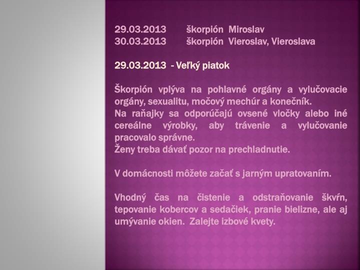 29.03.2013škorpión  Miroslav
