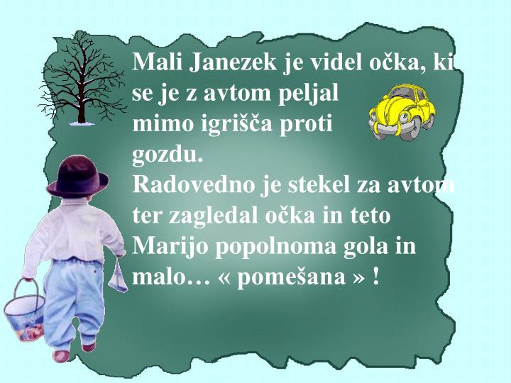 Mali Janezek
