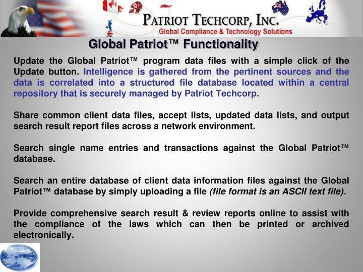Global Patriot