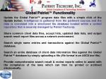 global patriot functionality1