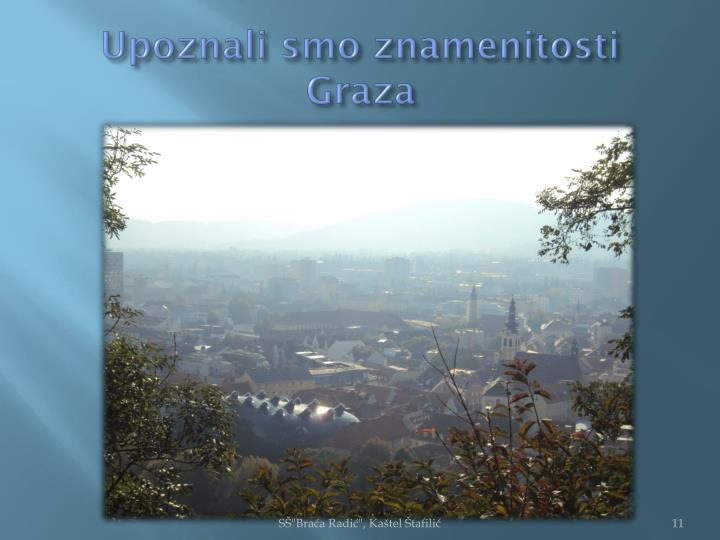 Upoznali smo znamenitosti Graza