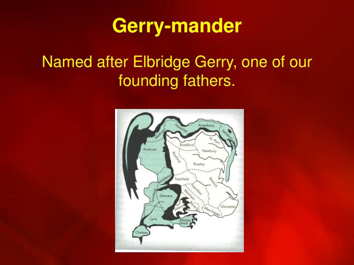 Gerry-mander
