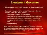 lieutenant governor