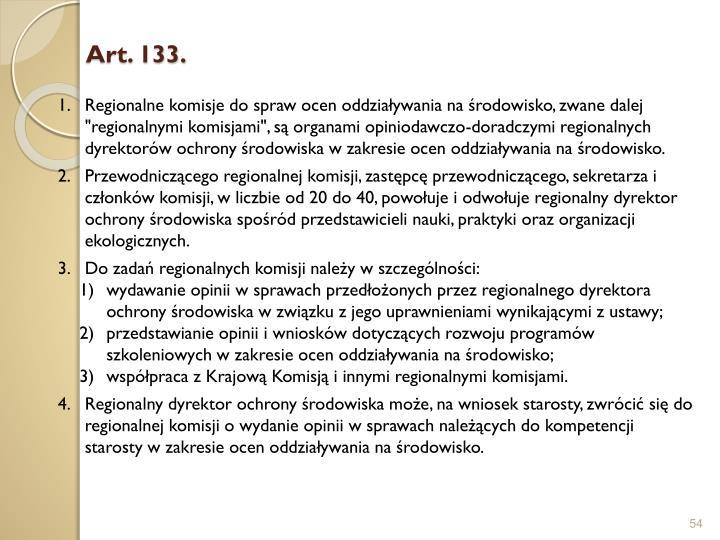Art. 133.