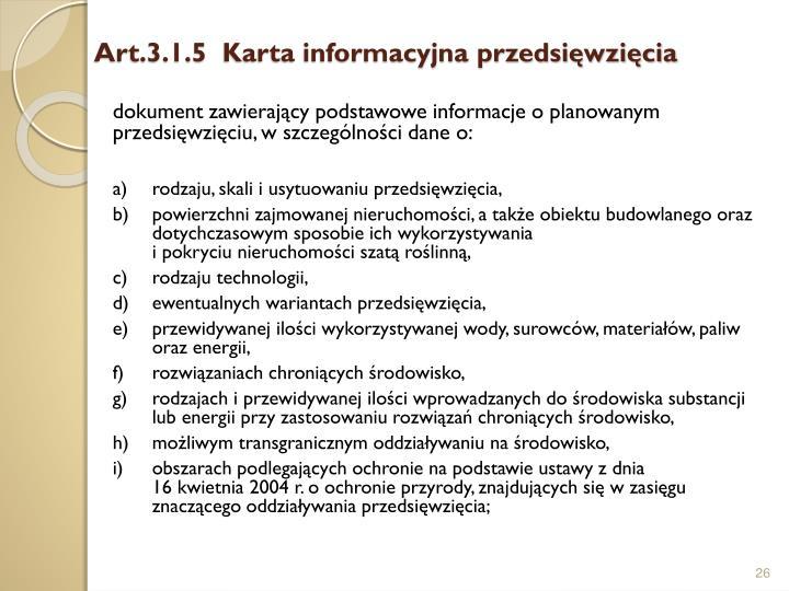 Art.3.1.5