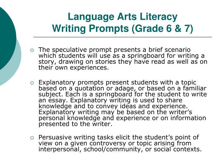 Language Arts Literacy
