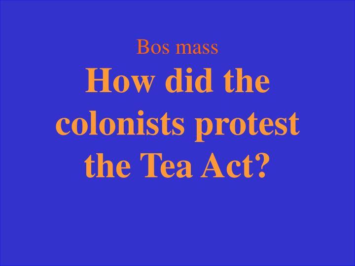 Bos mass