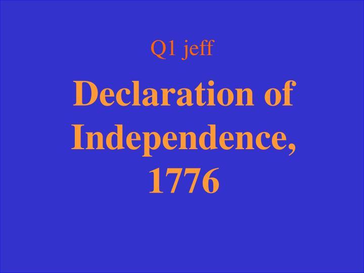 Q1 jeff