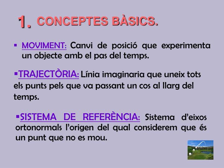 CONCEPTES BÀSICS.