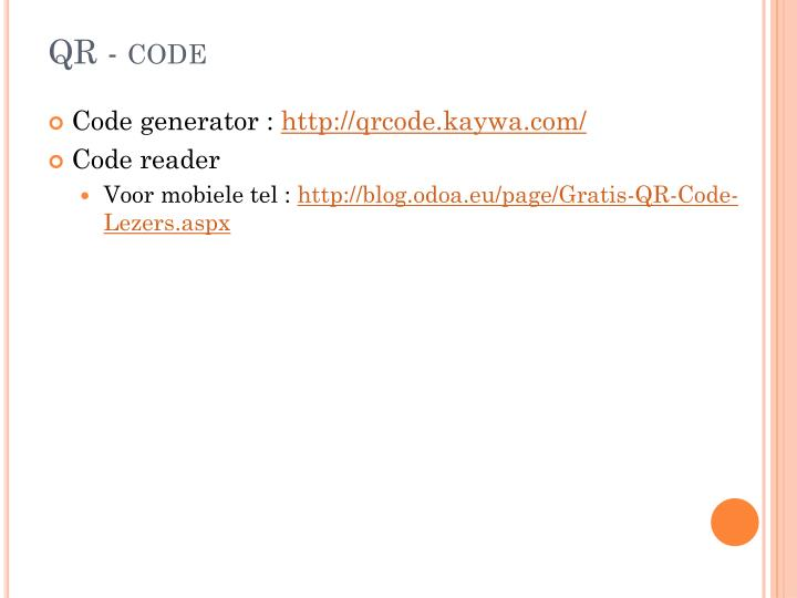 QR - code