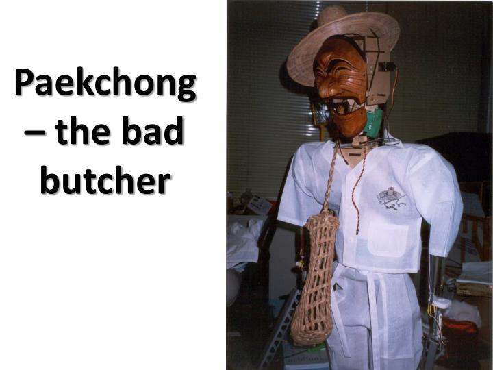 Paekchong