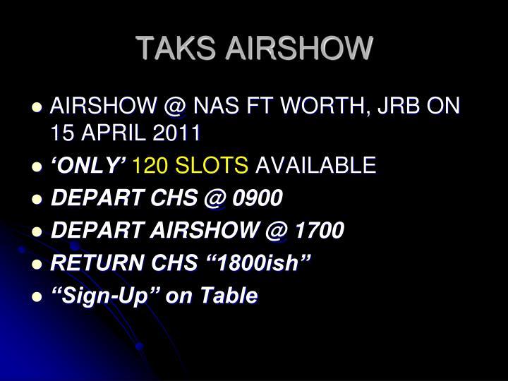 TAKS AIRSHOW