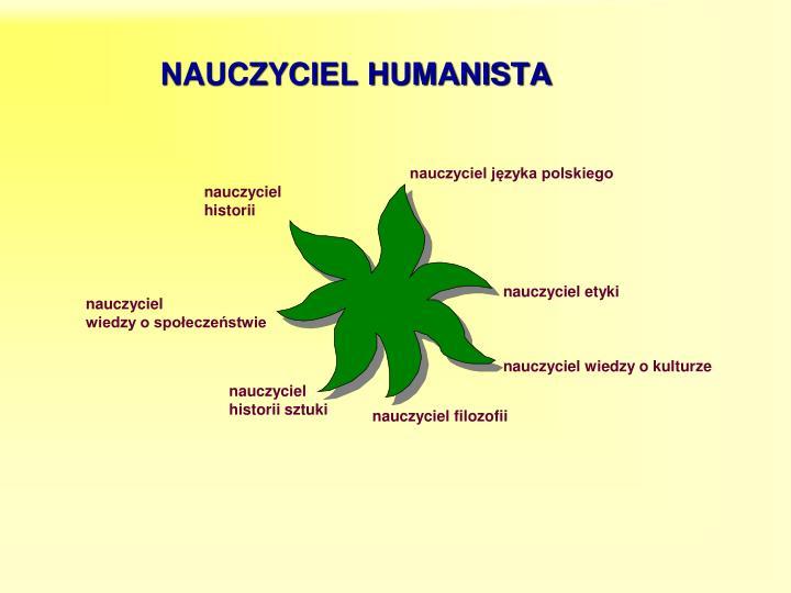 NAUCZYCIEL HUMANISTA