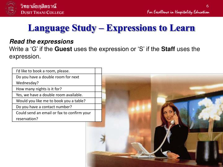 Language Study – Expressions to Learn