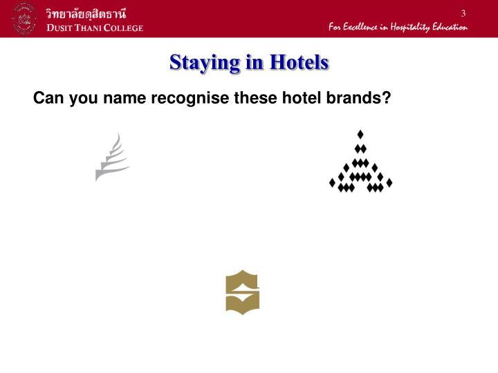 Staying in hotels1