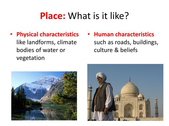 Place: