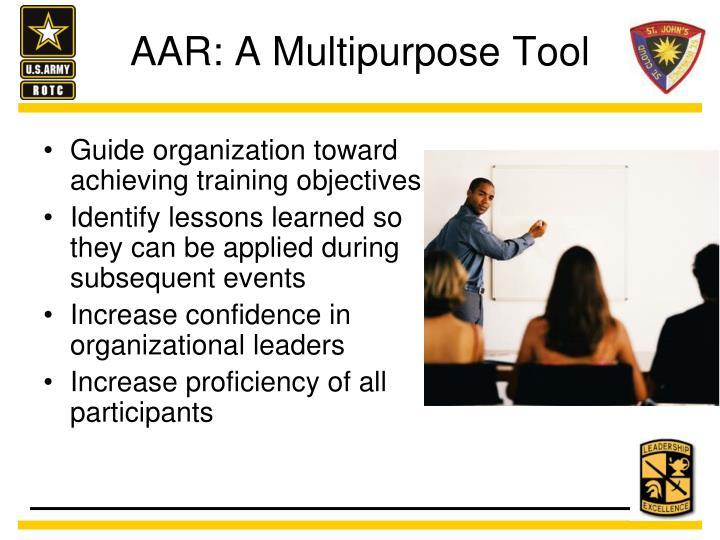 AAR: A Multipurpose Tool