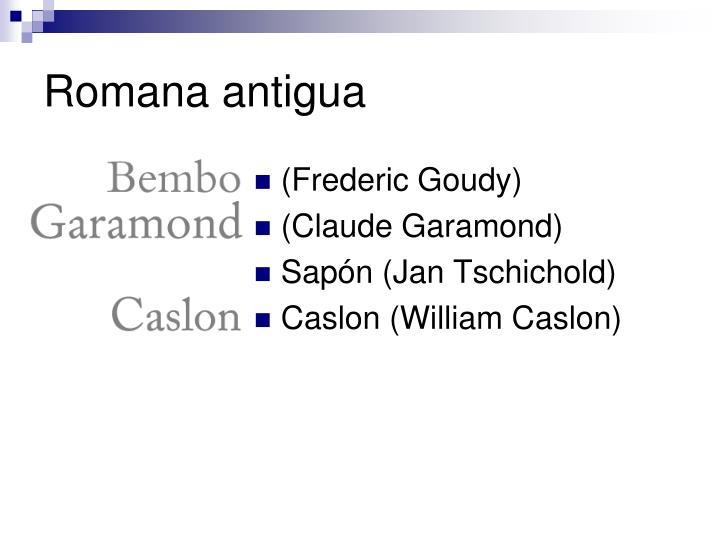 Romana antigua